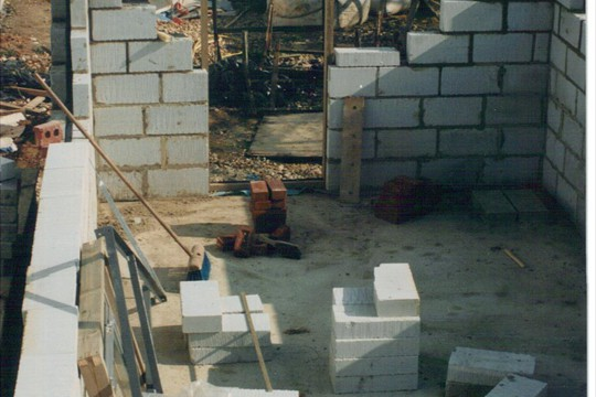 Walberton Lab construction, 1994