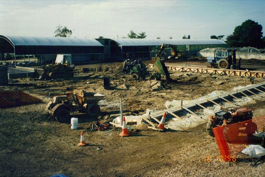 Levelling Loading Bay Apron, 1996