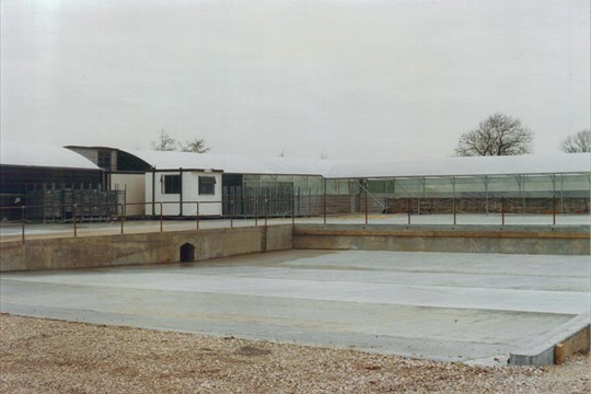 Loading Bay and Rovero complete, 1996