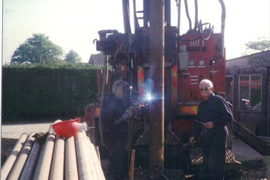 Drilling the Borehole, 1998