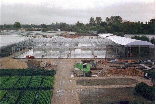 Rovero under construction, 1999