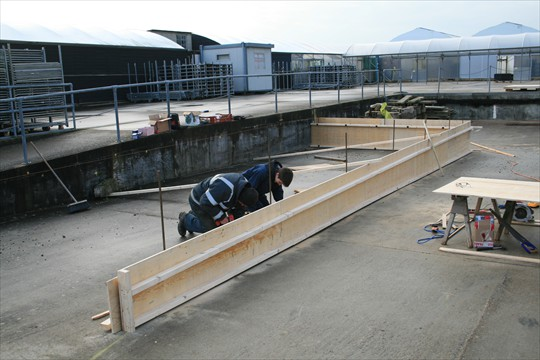 Adding a new ramp to the Loading Bay, 2011