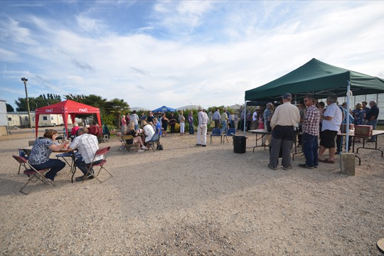 Walberton staff, friends and family gather for a Hog Roast to celebrate our 40th Anniversary Year