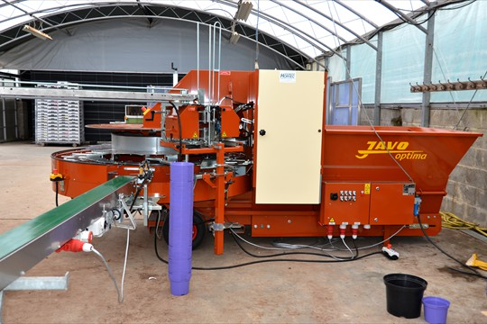 New Javo 'Optima' potting machine