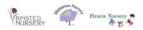 wholesale growers binsted, walberton and fleurie nurseries