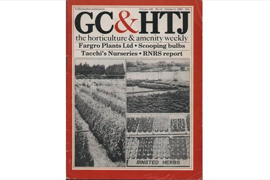 Binsted's herbs make headlines in 1980