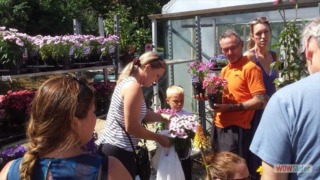 Binsted Nursery contributed to plant sales