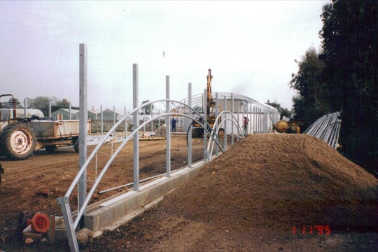 A-Z tunnel being constructed, 1995